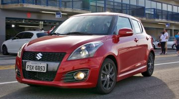 Veja as dicas do piloto Luiz Razia a bordo do Suzuki Swift Sport