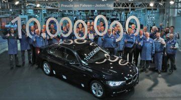 BMW Série 3 número 10 milhões