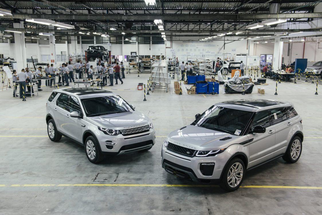 Land Rover Evoque será nacional em 2016