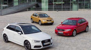 Gerações do Audi A3