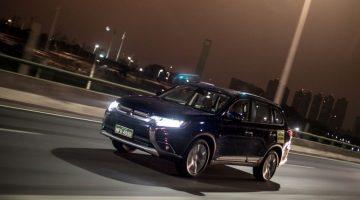 Mitsubishi New Outlander no teste de consumo