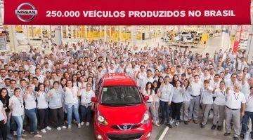 Nissan número 250.000
