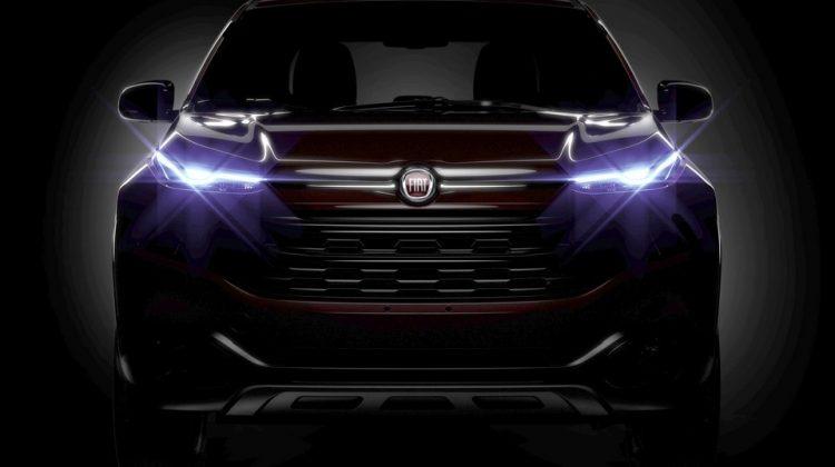Teaser da nova Fiat Toro