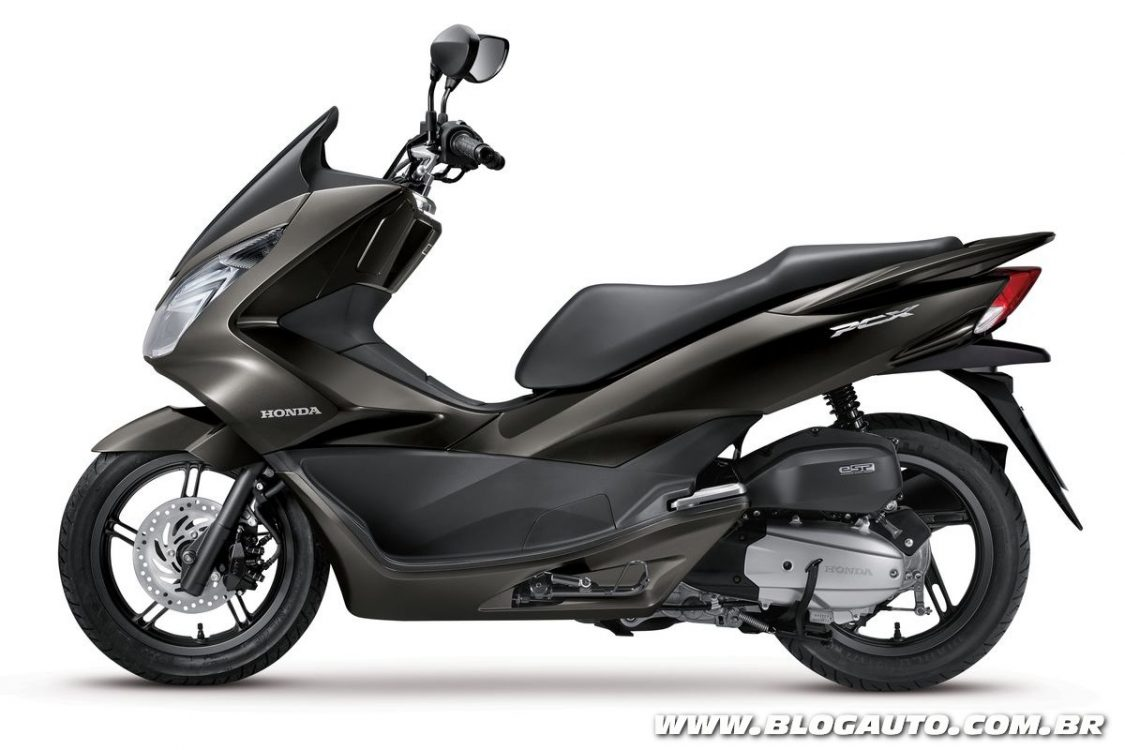 honda pcx 2016 chega com mudan as blogauto. Black Bedroom Furniture Sets. Home Design Ideas
