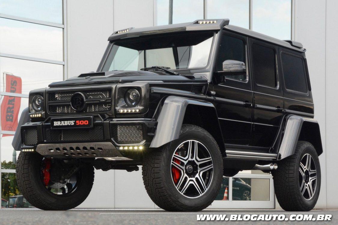 Brabus Lan A Mercedes Benz G 500 4x4 De 500 Cv Blogauto