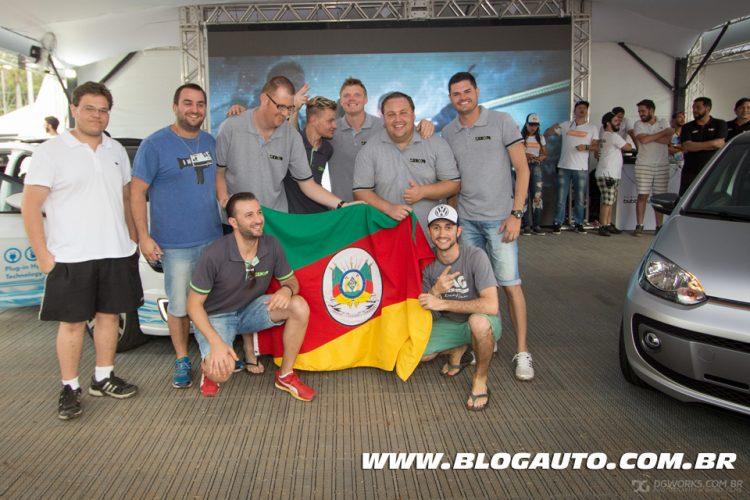 Bubble Gun Treffen 7 - BGT7 - Participante mais distante (que veio rodando) - Pessoal do Zero76 Club - Rio Grande do Sul - Foto Pedro Ruta Jr - DG Works