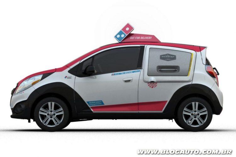 Chevrolet Spark para o Domino's