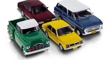 Coleção de miniaturas da Chevrolet