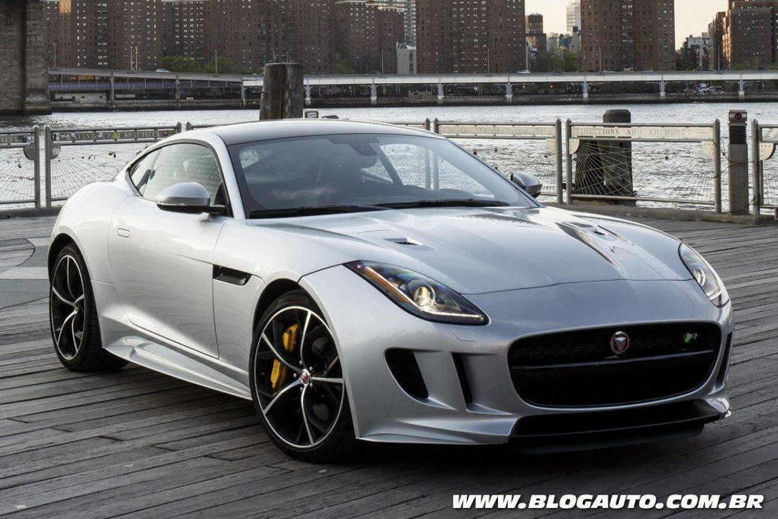 Jaguar F Type 2016 Traz Opção De Tração Integral