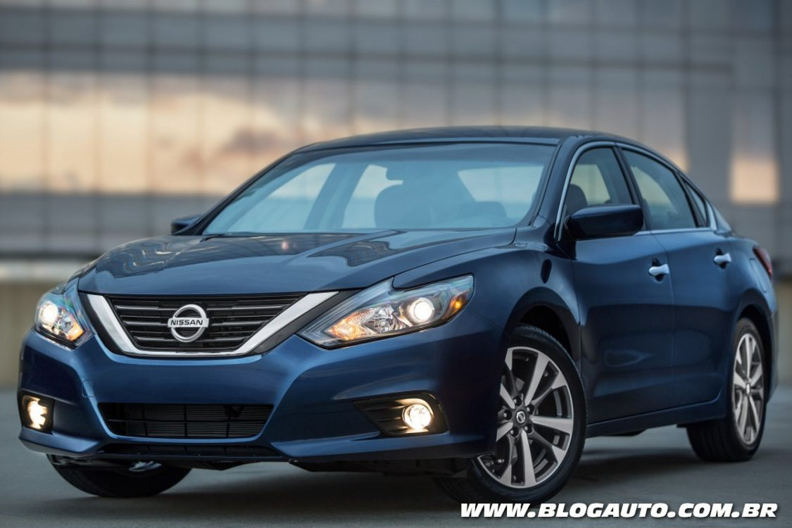 Nissan Altima 2016 revela novo visual e interior