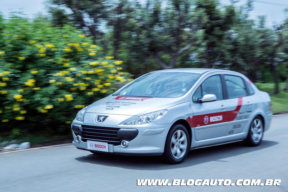 Peugeot 307 com sistema e-Clutch da Bosch