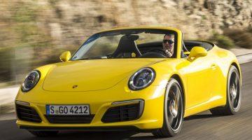 Porsche 911 Carrera S Cabriolet 2016