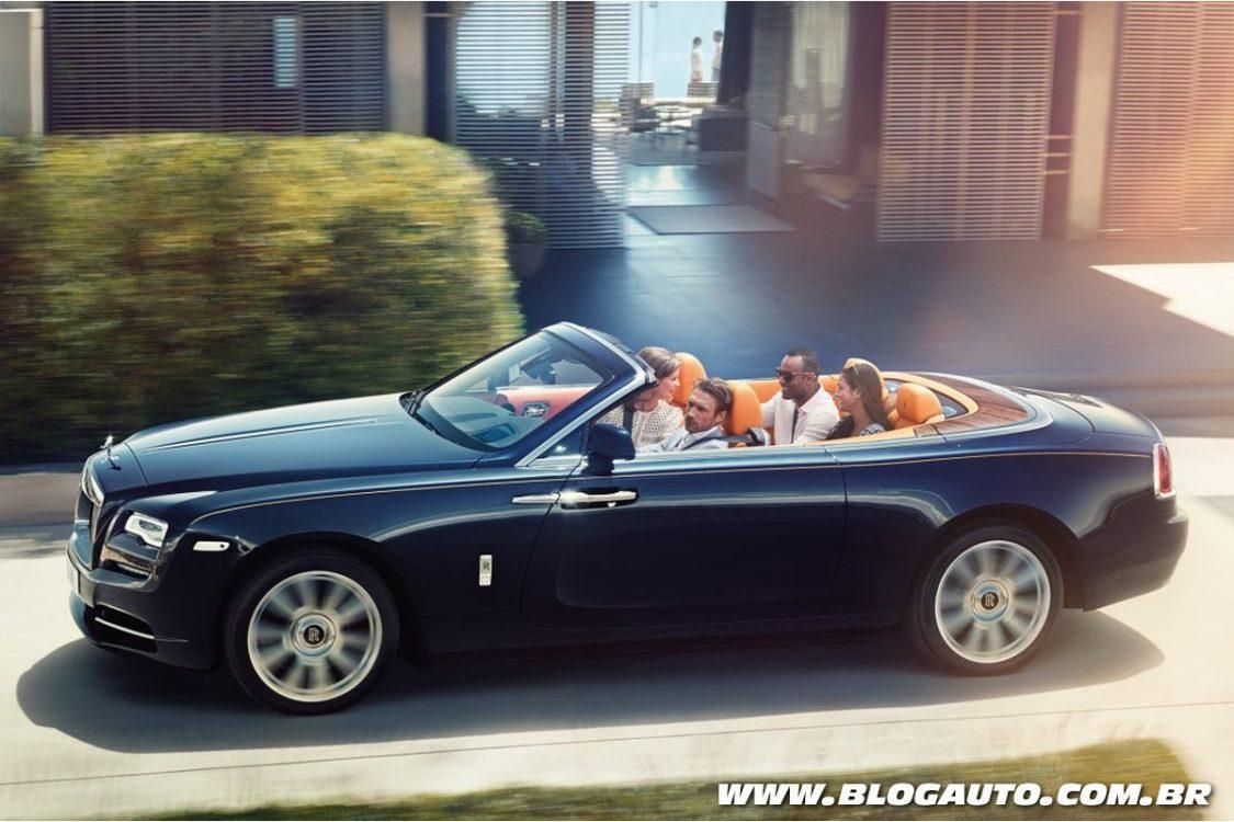Rolls-Royce Dawn chega aos 100 km/h em 5 segundos