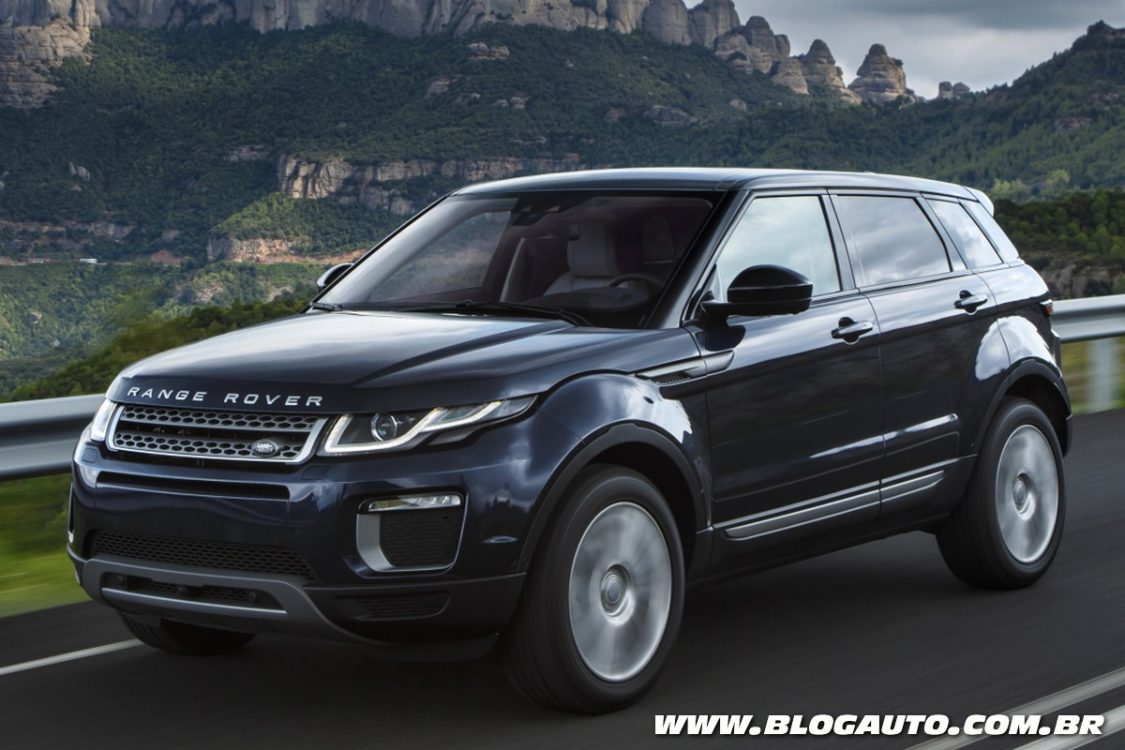 range rover evoque 2016 estreia novo visual blogauto. Black Bedroom Furniture Sets. Home Design Ideas