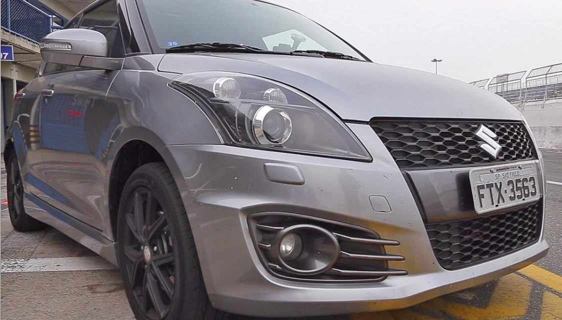 Swift Sport é um carro com a cara do Track Day