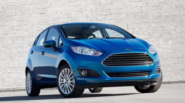 Atual geração do Ford Fiesta
