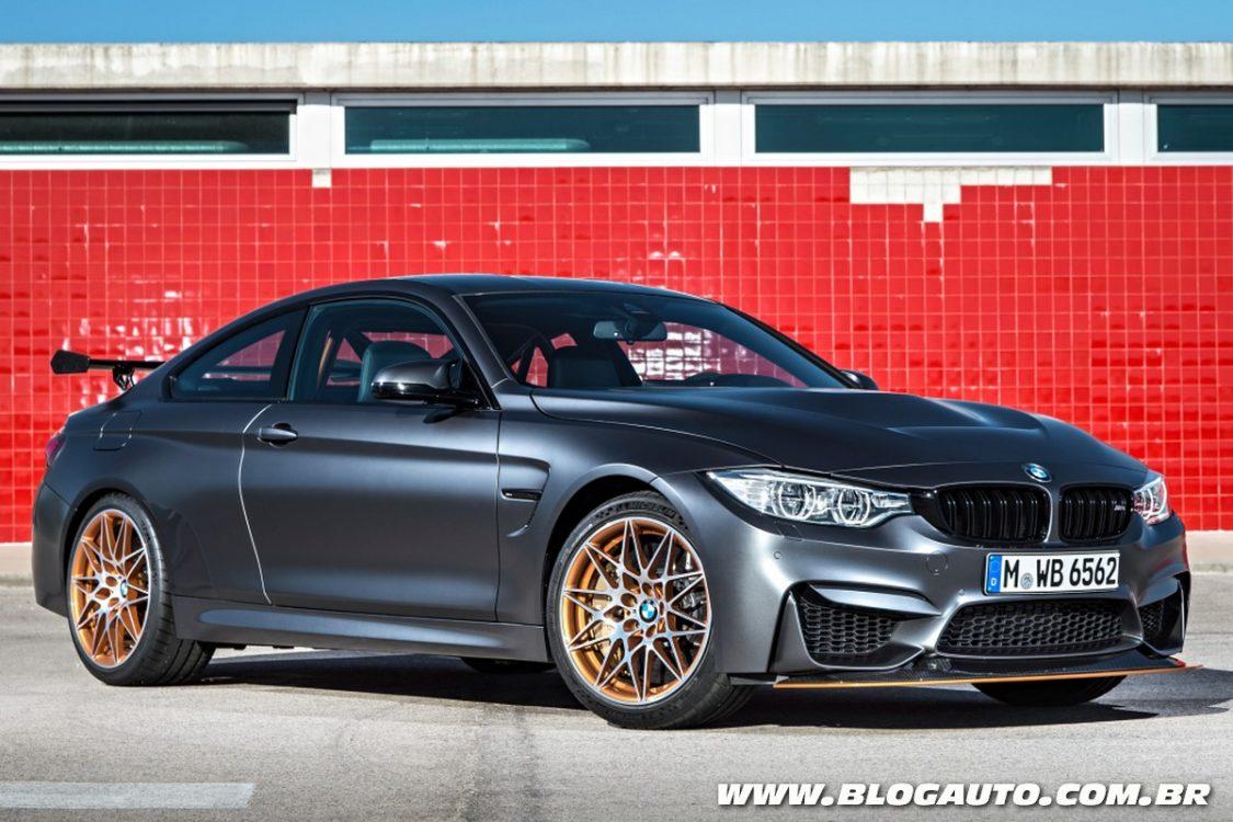 BMW M4 GTS chega limitado em 700 unidades