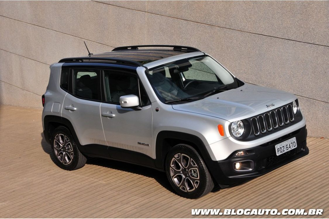 Jeep Renegade ganha pacote Limited Edition