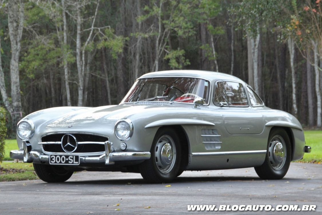 Os dez mercedes benz com maior valor em leil o blogauto for 1955 mercedes benz 300sl
