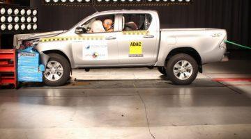 Nova Toyota Hilux no Latin NCAP