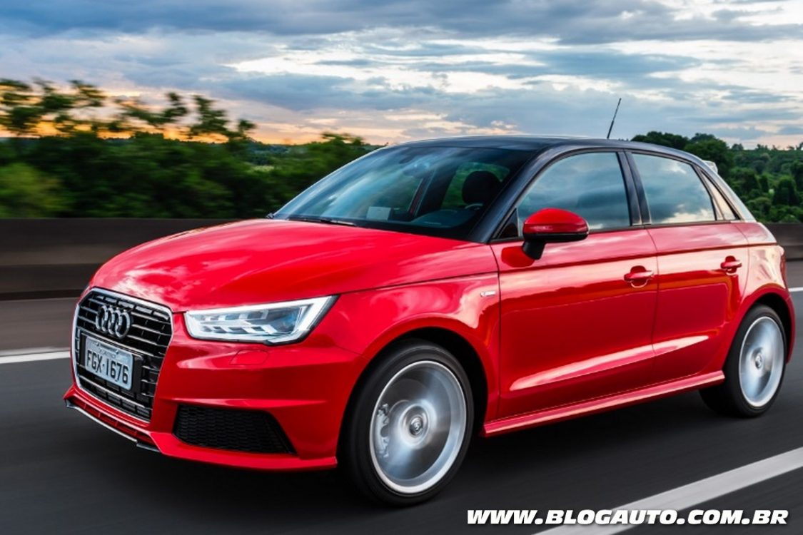 audi a1 sportback 2016 estreia novo visual blogauto. Black Bedroom Furniture Sets. Home Design Ideas