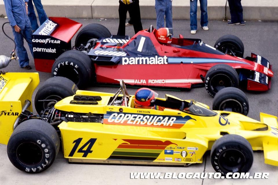 Quer comprar um Fórmula 1? Que tal o Copersucar do Emerson