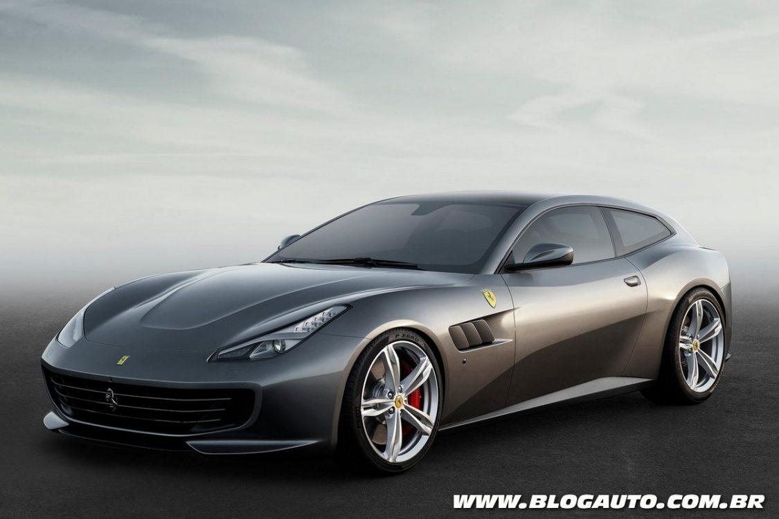 Ferrari GTC4 Lusso é a sucessora da FF