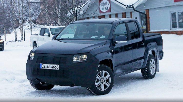Flagra da nova Volkswagen Amarok