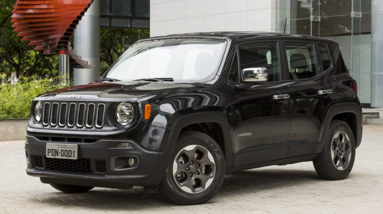 Jeep Renegade com kit Chrome
