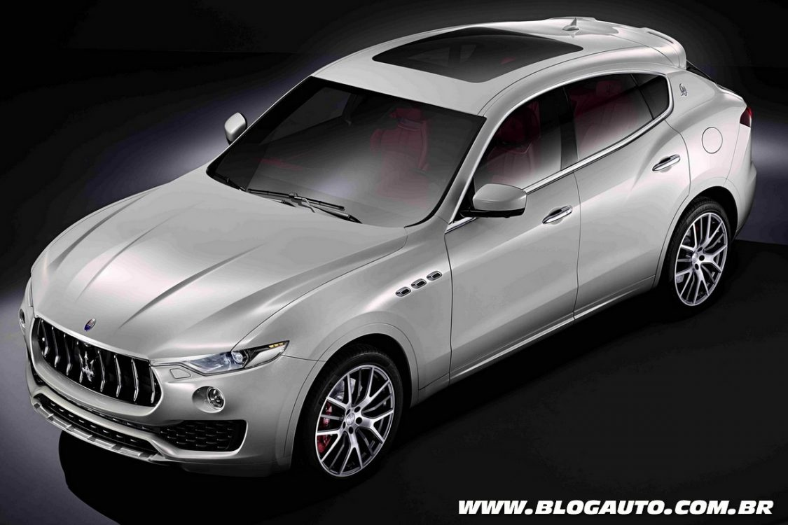 Maserati Levante chega no Salão de Genebra