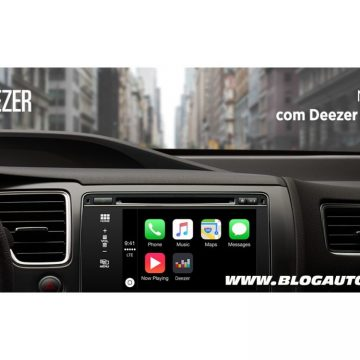Deezer no Apple CarPlay
