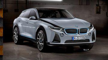 Projeção do novo BMW i5