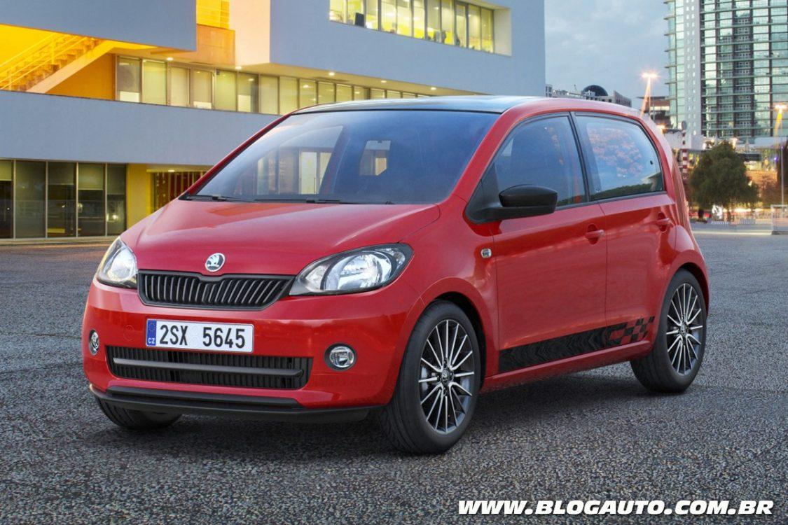 Conheça o Skoda Citigo, um VW up! tcheco
