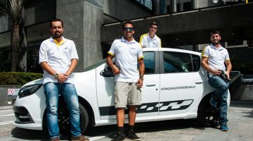 Track Day Hunters com o Renault Sandero R.STrack Day Hunters com o Renault Sandero R.S