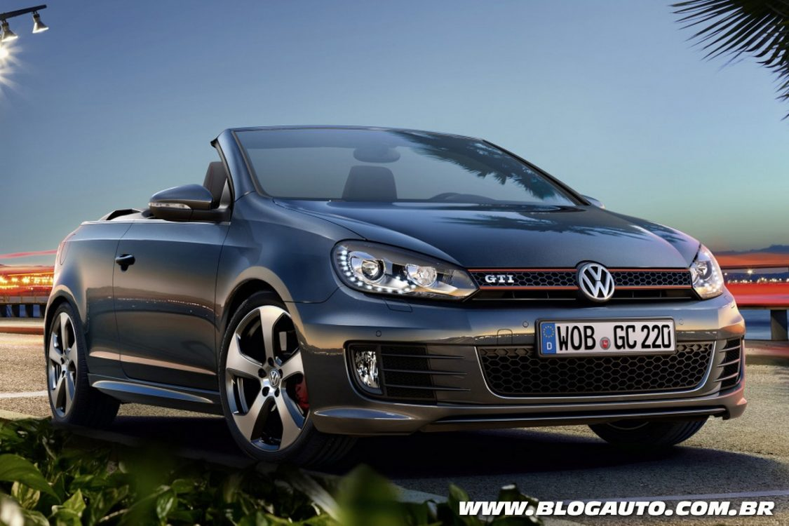 volkswagen golf gti cabriolet ganha novidades blogauto. Black Bedroom Furniture Sets. Home Design Ideas