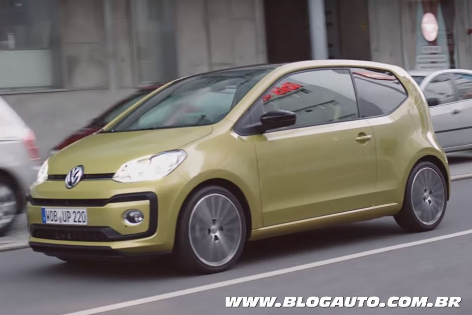 Volkswagen up! facelift