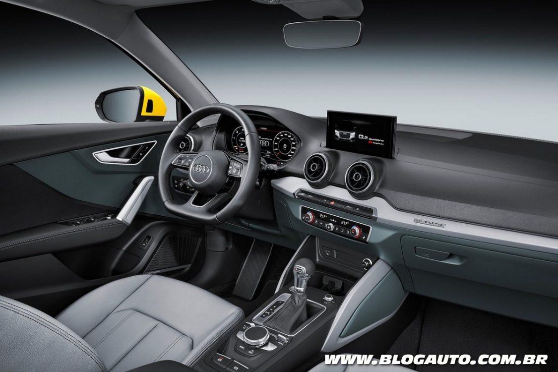 #C6A505 Audi Q2 é o novo SUV compacto da marca BlogAuto 1414 Quanto Custa Uma Janela De Aluminio Com Grade