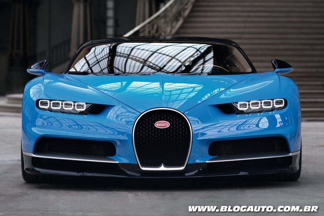 Bugatti Chiron em 30 números surpreendentes
