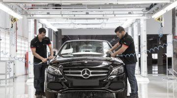 Fábrica da Mercedes-Benz em Iracemápolis (SP)