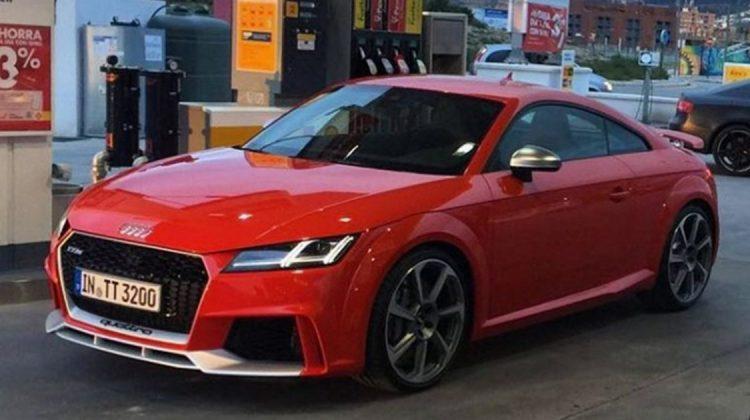 Flagra do novo Audi TT RS