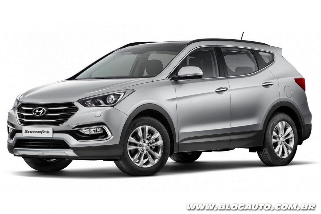 Hyundai Santa Fe 2016 Chega Ao Brasil R 164 9 Mil Blogauto