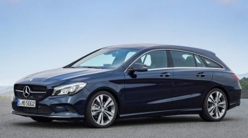 Mercedes-Benz CLA Shooting Brake 2017
