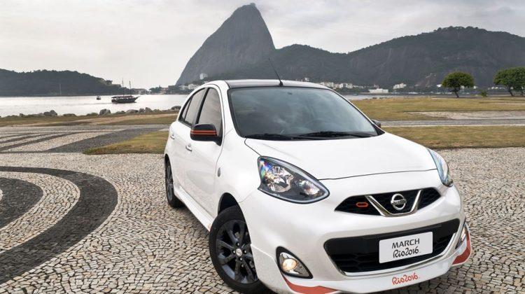 Nissan March Rio 2016