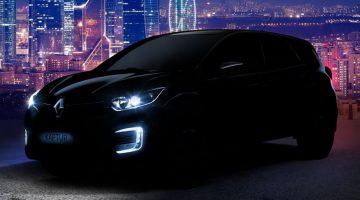 Teaser do novo Renault Kaptur