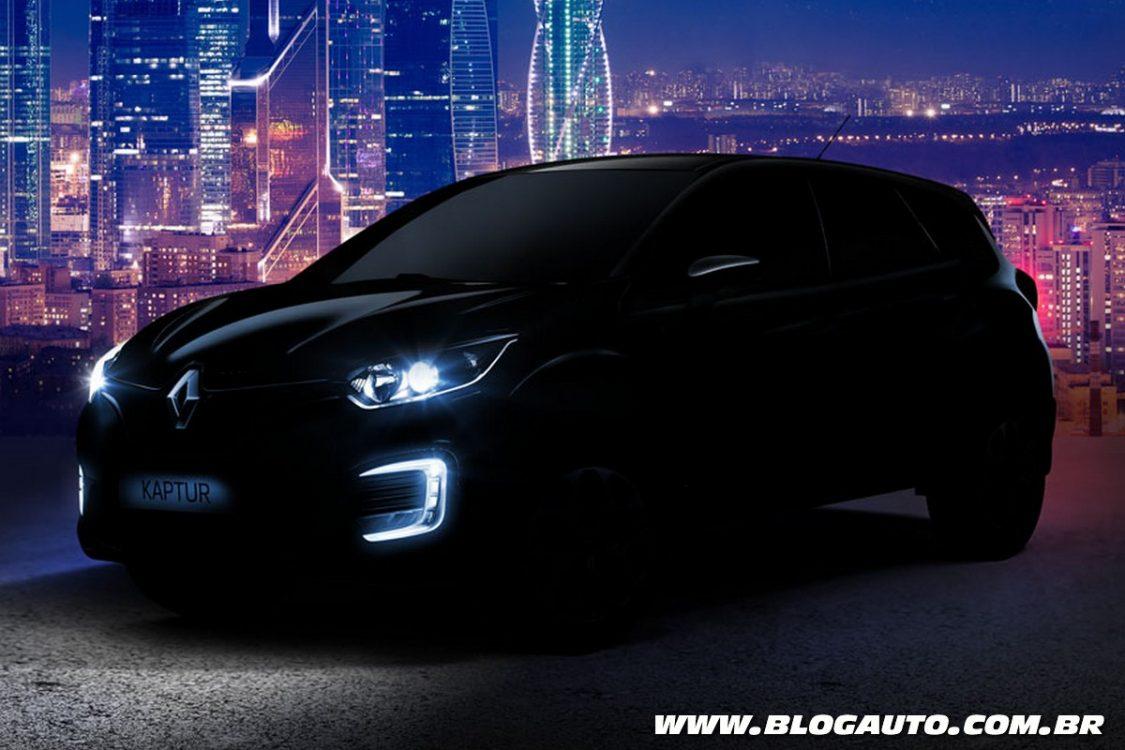 Provável nacional, Renault Kaptur surge em teaser