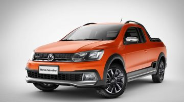Volkswagen Saveiro 2017 Cross