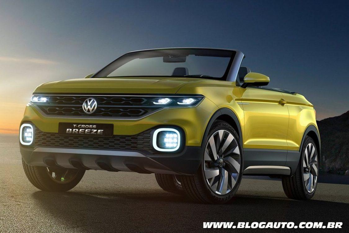 volkswagen t cross breeze antecipa suv da marca blogauto. Black Bedroom Furniture Sets. Home Design Ideas