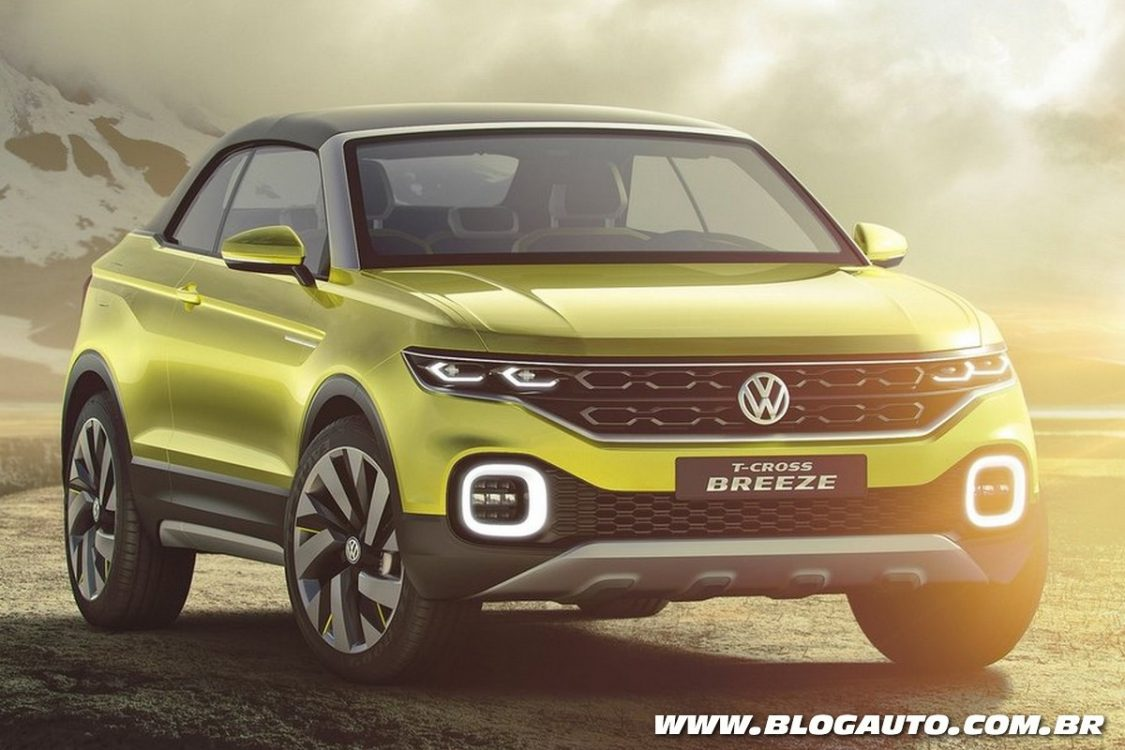 Volkswagen T Cross Breeze Antecipa Suv Da Marca Blogauto