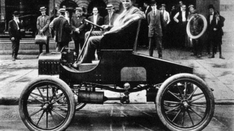 Henry Ford na sede da marca