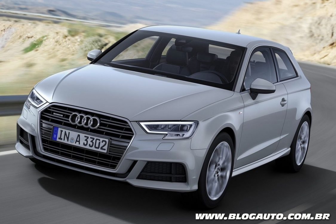 audi a3 2017 e s3 ganham novo visual blogauto. Black Bedroom Furniture Sets. Home Design Ideas